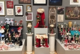 Xmas ARTicles 2017 - Our Christmas theme wall