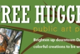 """Tree Huggers"" public art project in Central Park"