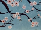 Cocktails & Creations: Cherry Blossoms on Canvas