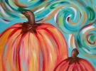 COCKTAILS & CREATIONS: Charming Pumpkins on Canvas  (Age 21+)